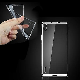Huawei Ascend P7 transparent case cover silicone