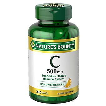 Bounty vitamina C, 500 Mg, tabletas de la naturaleza, 250 Ea