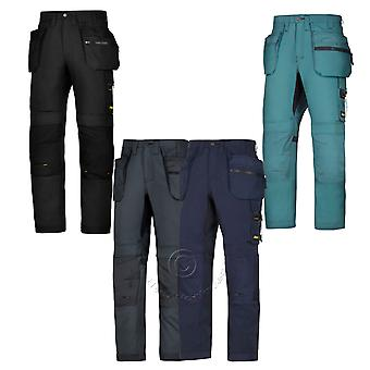 Snickers AllroundWork, Trousers with Multi, Holster & Kneepad Pockets - 6200