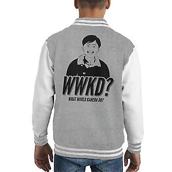 Akira What Would Kaneda Do Kid's Varsity Jacket