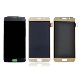 Stuff Certified ® Samsung Galaxy S6 screen (Touchscreen + AMOLED + Parts) AAA + Quality - Black / White / Gold