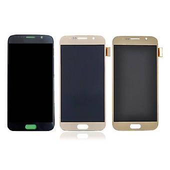 Roba Certified® Samsung Galaxy S6 schermo (Touchscreen + LCD + parti) AAA + qualità - nero / bianco / oro