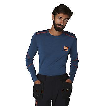 Helly Hansen Mens Lifa Merino Long Sleeve Crewneck T Shirt