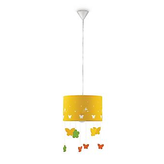 Suspension Lamp Philips Maripo with butterflies Nursery Baby
