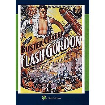 Flash Gordon ruimte soldaten hoofdstuk 2 [DVD] USA import