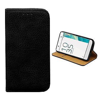 Colorfone SONY Xperia XA cartera bolsa (negro)