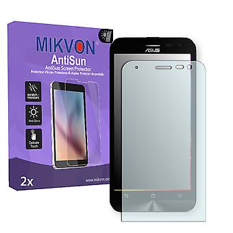 Asus ZenFone 2 Laser (ZE500KG) Screen Protector - Mikvon AntiSun (Retail Package with accessories)