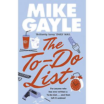 The To-do List by Mike Gayle - 9780340936757 Book