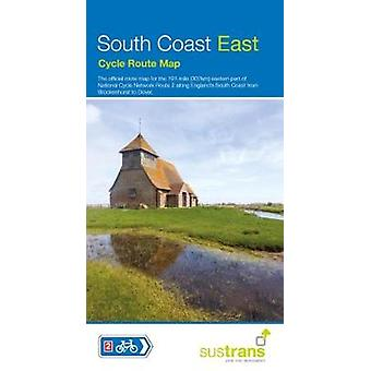 South Coast East Cycle Map by Sustrans - 9781910845318 Book