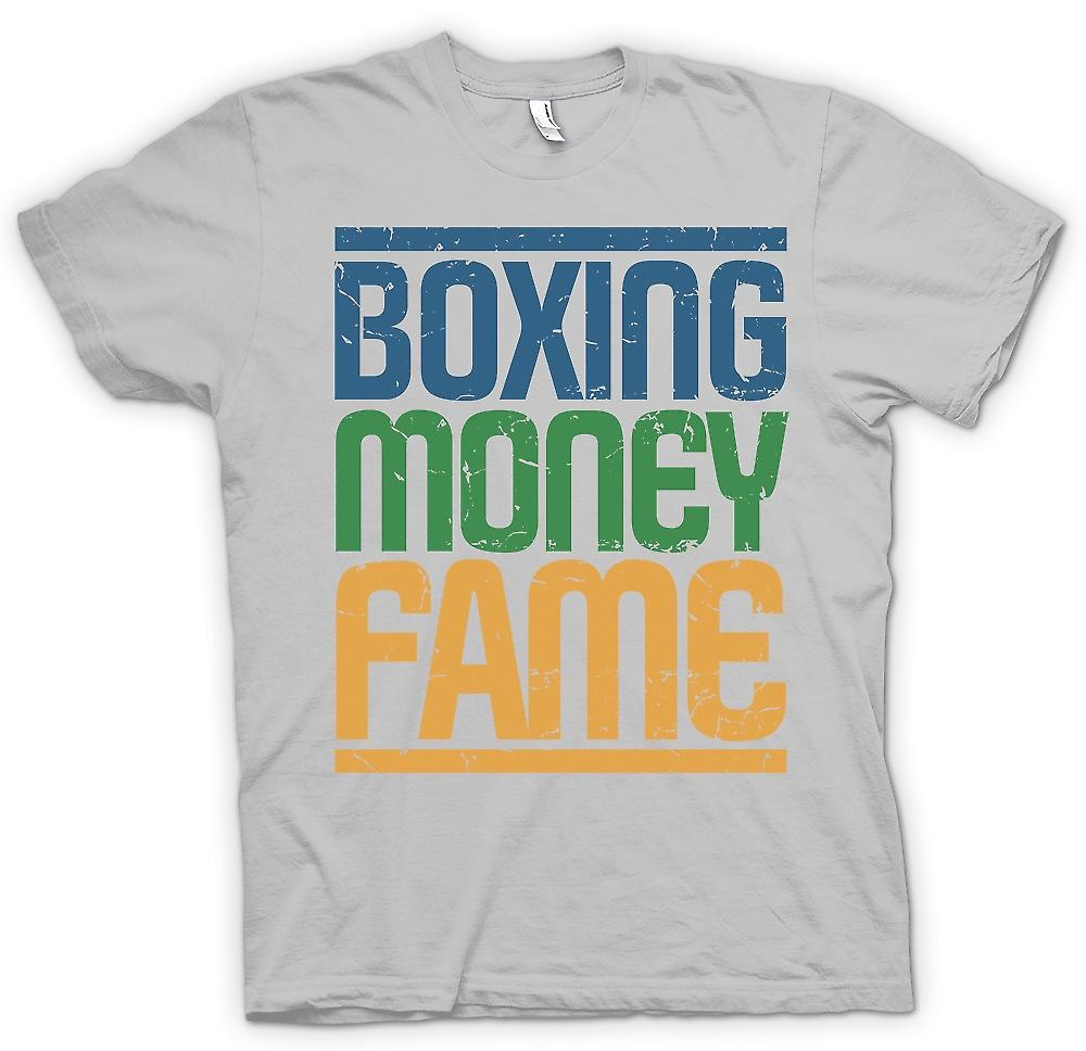 Mens t-shirt-Boxing - soldi - Fame