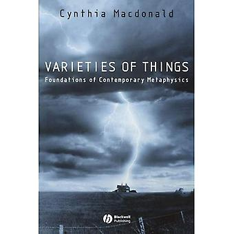 Varieties of Things: Foundations of Contemporary Metaphysics (Contemporary Philosophy)