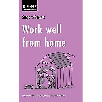 Work Well from Home: How to Run a Successful Home Office (Steps to Success)