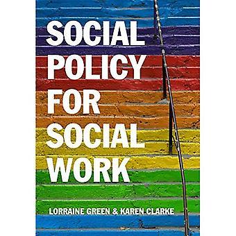 Politique sociale pour le travail Social: mise en place de travail Social dans son contexte plus large
