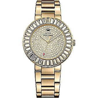 Juicy Couture Ladies' 1901178 Grove Stone Set Gold Steel Watch