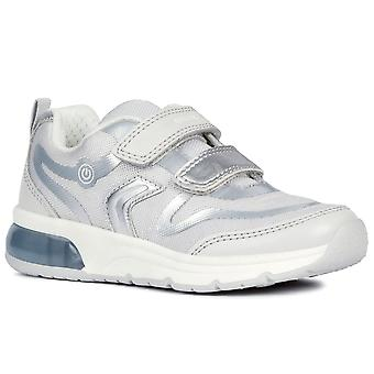 Geox Junior Space Club Double Riptape Boys Sports Trainers