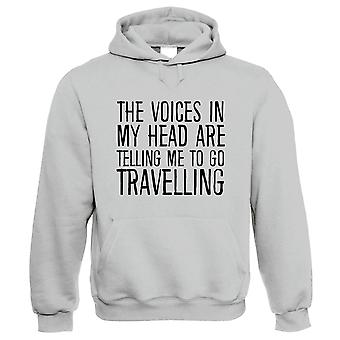 Voices In My Head Go Travelling, Hoodie