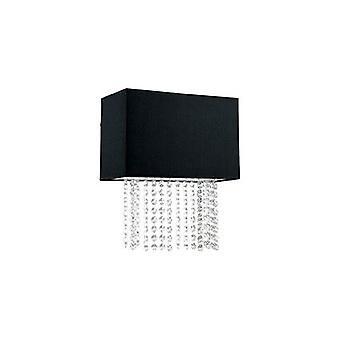 Ideal Lux - Phoenix schwarze Wand Licht IDL113715