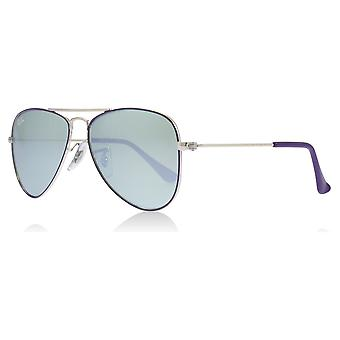0bd42171a8 Ray-Ban Junior RJ9506S Age 4-8 Years 262 30 Silver   Violet