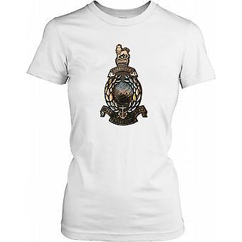 Brons Royal Marines Insignia - Per Mare Per Terram damer T Shirt