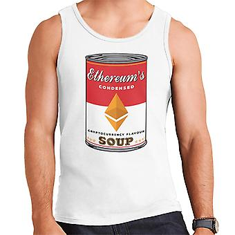 Ethereum Cryptocurrency Flavoured Soup Men's Vest