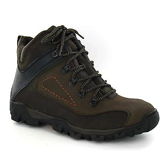 Mens Lace Up Walking Boots