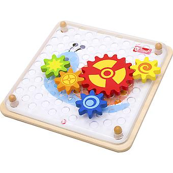 Classic World Wooden Spinning Gears Puzzle