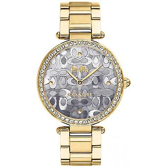 Coach | Womens Park | Two Tone Silver And Gold | 14503222 Watch
