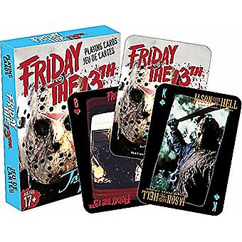 Friday 13th movie set of playing cards    nm 52319