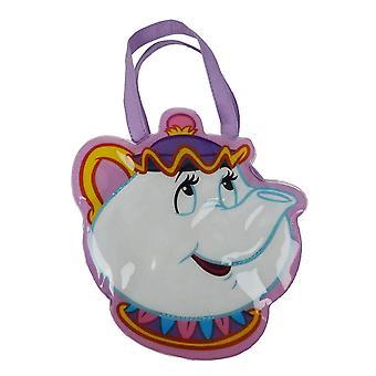 Beauty and the Beast Mrs Potts Shaped Handtasche