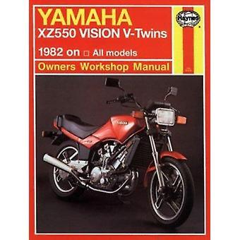 Yamaha XZ550 Vision V-twins Owner's Workshop Manual (2nd Revised edit