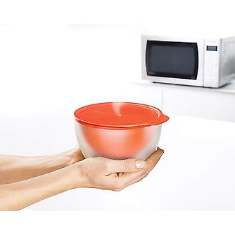 Joseph Joseph - M-Cuisine - Microwave Cool Touch Bowl and Dish Set - Orange