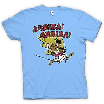 Mens t-skjorte - Arriba Arriba - rask