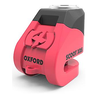 Oxford Pink Scoot XD5 Disc Motorcycle Lock
