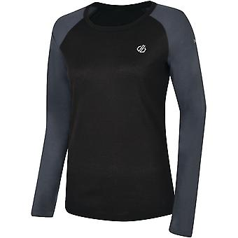 Dare 2b Donne Scambio maniche lunghe Quick Dry Baselayer Top