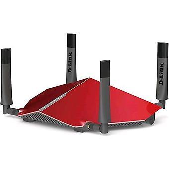 Router inalámbrico de doble banda D-link dir-885l ac3150 de 4 puertos gigabit etherrnet lan (qos)