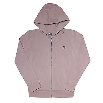 Infant Boys Lyle And Scott Classic Zip Hoody in Grey.