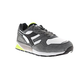 Diadora N9002 Mens Gray Suede Sneakers Lace Up Low Top Shoes