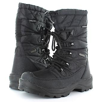 Trespass Mens Yetti Waterproof Winter Lace Up Tall Snow Boots