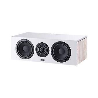 B-ware Heco Aurora Center 30 2-way bass reflex Center speaker, color: Ivory white, 1 piece