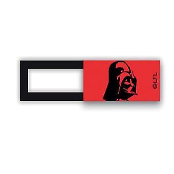 Webcam cover / schuifje  - licentie™ - Dart Vader 01 - rood