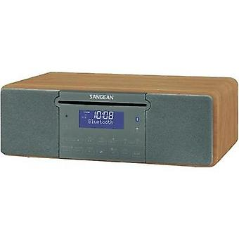 DAB+ Table top radio Sangean DDR-47 BT AUX, CD, DAB+, SD, FM, USB Wood