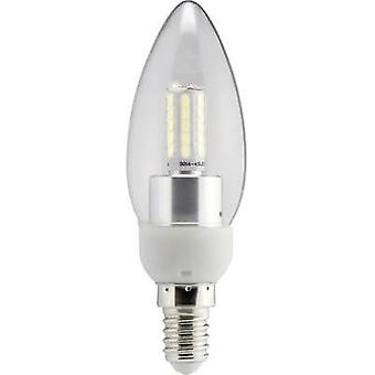 LED E14 Candle 4 W = 40 W Warm white (Ø x L) 35 mm x 112 mm EEC: A+ Sygonix 1 pc(s)
