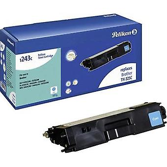 Pelikan Toner cartridge replaced Brother TN-325C Compatible Cyan 3500 pages 1243C