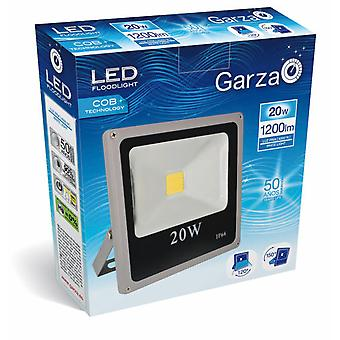 Garza Led Projector 20W 1200Lm outside 40K (Home , Lighting , Light bulbs and pipes)