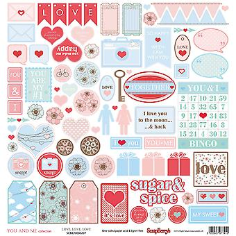 ScrapBerry is jij en ik ' Single-Sided Cardstock 12