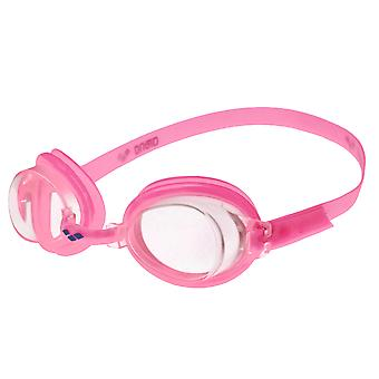 Arena Bubble 3 Junior Swim Goggle - Clear Lens - Pink Frame