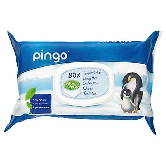 Pingo WIPES Bebe Bio, 80 Units (Childhood , Diaper and changers , Wipes)