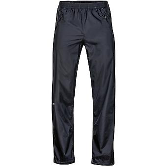 Marmot Mens PreCip Full Zip Pant Regular Leg Black (Small)