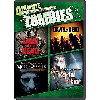 Midnight Marathon Pack: Zombies [DVD] USA import