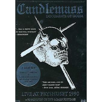 Candlemass - Documents of Doom [DVD] USA import